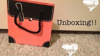 Giveaway Prize Unboxing!! Thumbnail