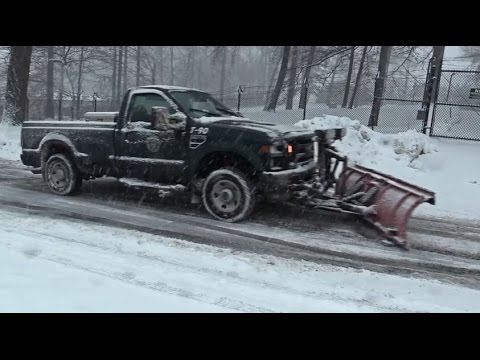 Town of North Hempstead Snow Removal - Snow Storm Juno
