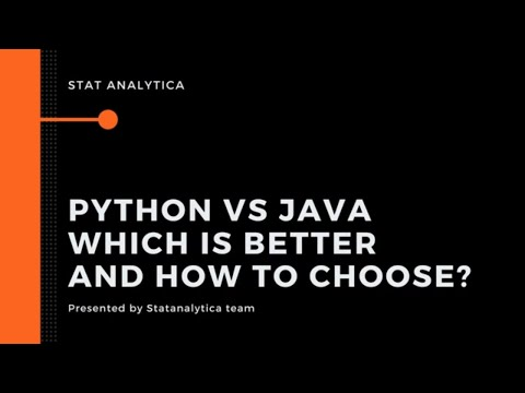 Python vs Java: Which is better and How to Choose?