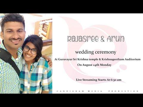 Rajasree & Arun Wedding