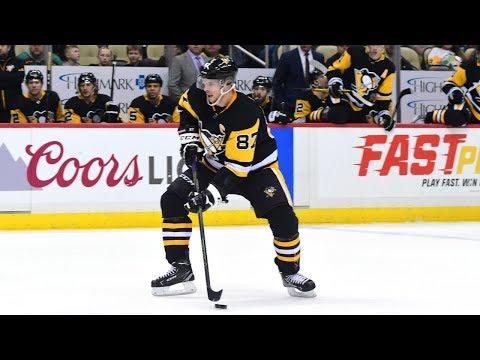 Sidney Crosby All Goals From The 2017/2018 NHL Season (HD)