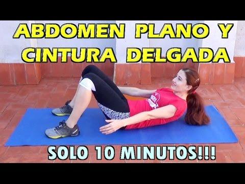 ejercicios para reducir abdomen y cintura rapidamente