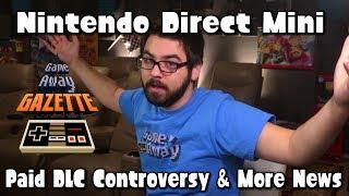 Nintendo Direct Mini & BlazeBlue DLC Controversy?! - Game Away Gazette