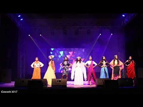 The Calcutta Girls' High School fashion show at Concord 2017(conjure)