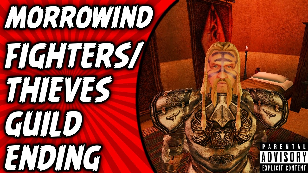 Morrowind Quest Fighters/Thieves Guild End , Kill Hard,Heart  (Walkthrough/Gameplay)