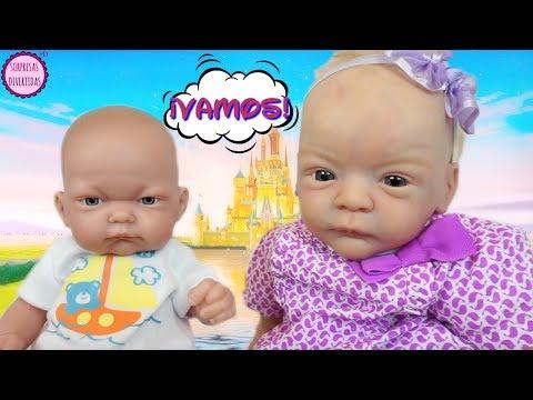 Lindea & Ben planean irse a Disneyland 🎉 Mis muñecas bebés son juguetes con vida 😳