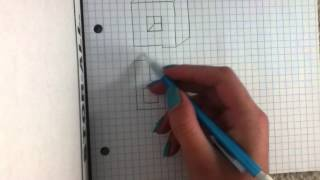 How To Draw 3-D Letters On Graph Paper
