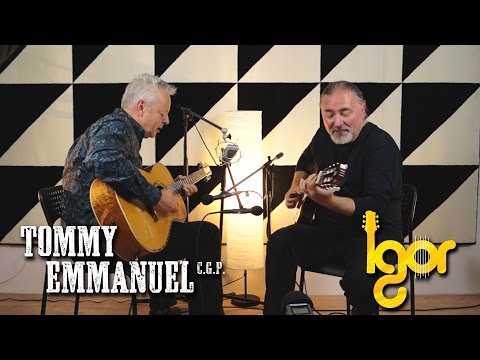 Нit the rоad Jack – Tommy Emmanuel & Igor Presnyakov (AmsterJam)