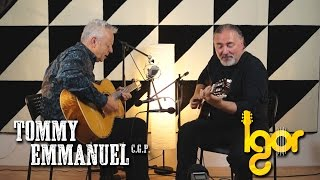 Нit the rоad Jack - Tommy Emmanuel & Igor Presnyakov (AmsterJam)