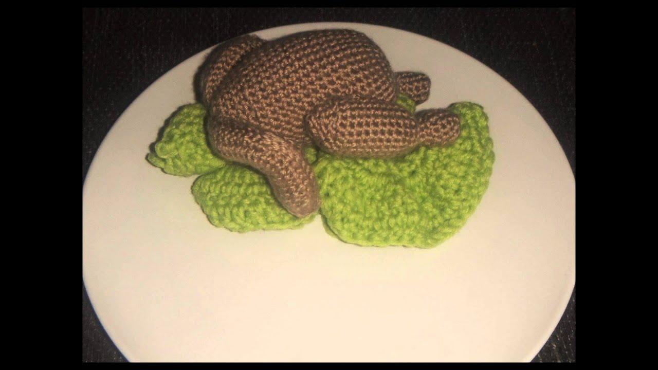 Hähnchen mit Gemüse - selbstgehäkelt - YouTube