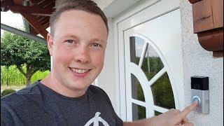 Ring Doorbell 2 - ein top Gadget für dein Smarthome ? Unboxing + Einrichtung
