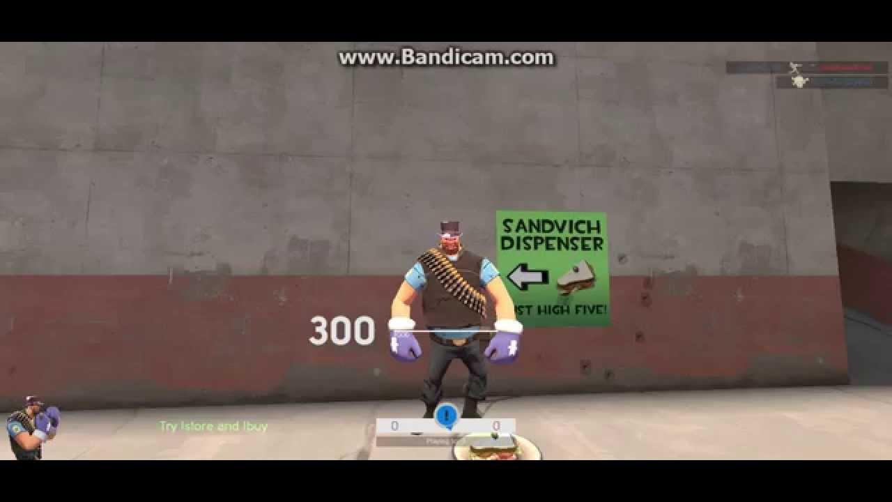 Sandvich Dispenser Team Fortress 2 Youtube