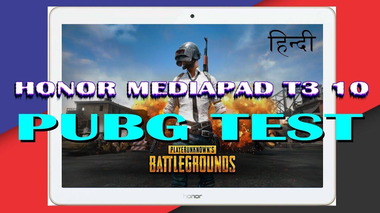 Honor Mediapad T3 10 Pubg Gaming Review Youtube