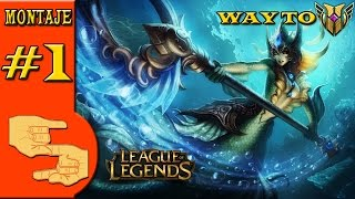 Nami Support S6 | League of leguends | Montaje 1# | #StickProGames