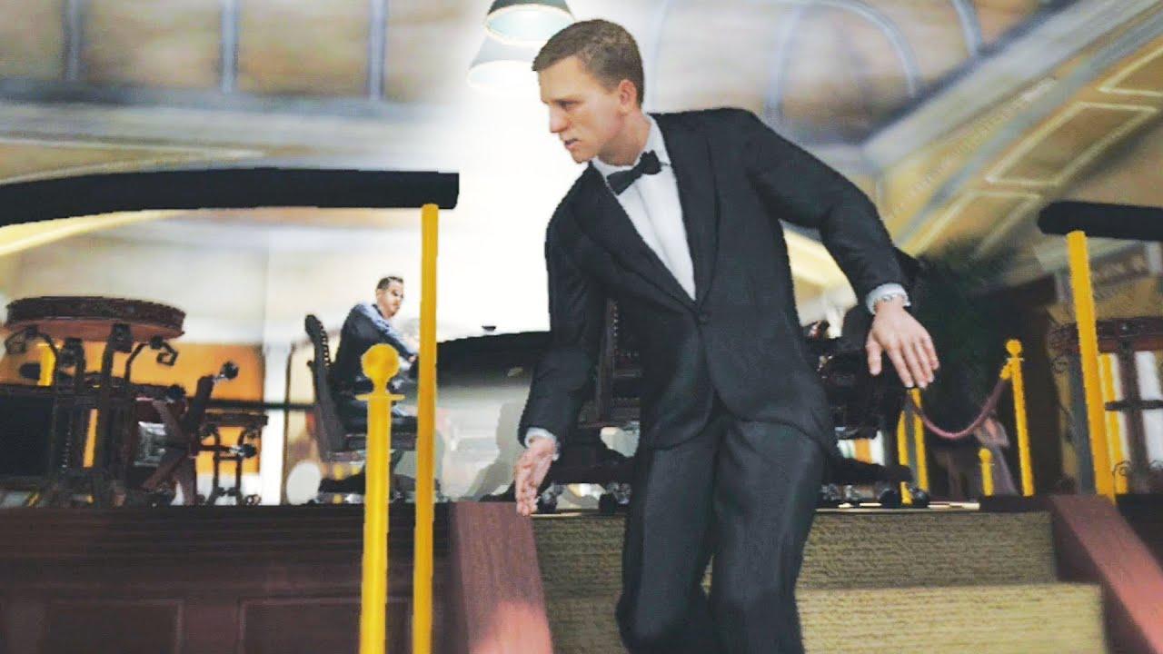 Прохождение игры джеймс бонд 007 казино рояль заработать большие деньги на казино