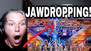 ZURCAROH, AERIAL DANCE GROUP (AGT) | REACTION