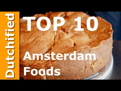 Amsterdam Food 🇳🇱🍲 Top 10 Amsterdam Foods you must try