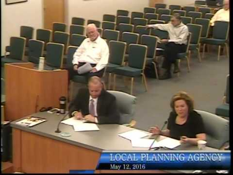 City of Bonita Springs, Local Planning Agency Meeting, May 12th 2016