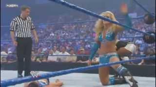 Repeat youtube video Women's Champion Michelle McCool Vs. Kelly Kelly - WWE Smackdown 9/3/10