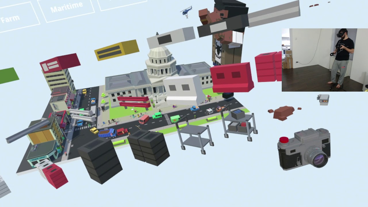 Tiny Town VR – Zbudujmy miasto! HTC VIVE VR