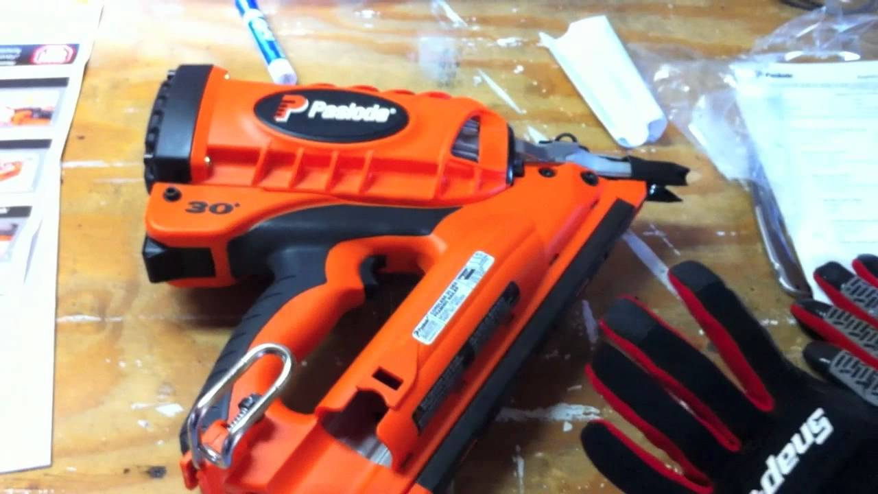 Paslode Cf325 Cordless Framing Nailer Review Youtube