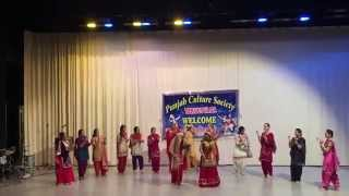 Punjabi Cultural Society Finland presents Lohrhi 2015 : Giddha Video
