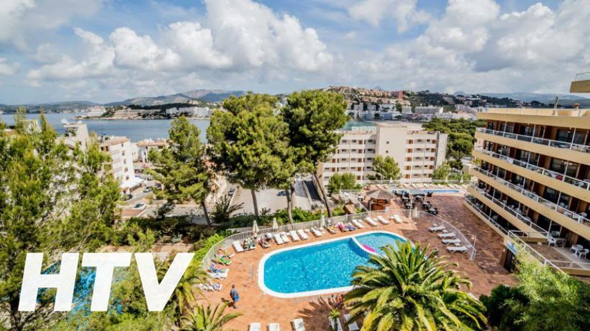 Hotel Apartments Portofino En Santa Ponsa Youtube