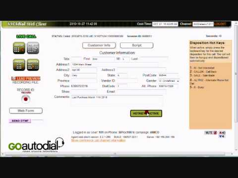 Asterisk Call Center Cisco Phones Vicidial.wmv