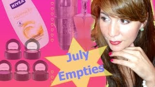 Empties that I have used up Thumbnail