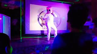 Fortnite Marshmello in Real Life doing the Fortnite Dances