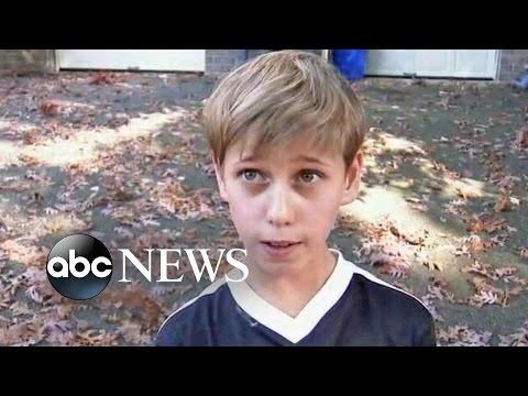 Boy Walks in on Burglar Robbing Home [CAUGHT ON TAPE]