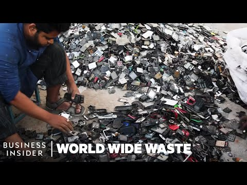 How To Mine Gold From Electronics | World Wide Waste