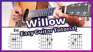 """Hey guys, this is a video how to play """"willow"""" from taylor swift. subscribe the channel for coming giveaway! download tab here: https://www.dropbo..."""