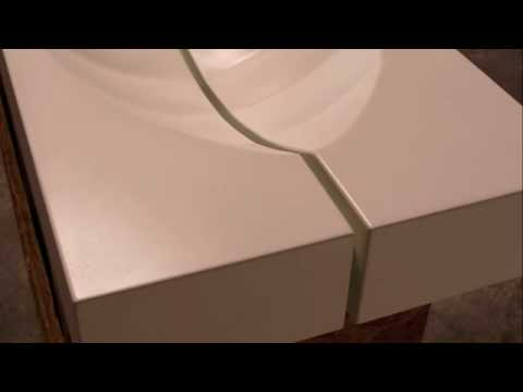 Fabric Formed Sink Mold Dvd Gore Design Co Gfrc Youtube