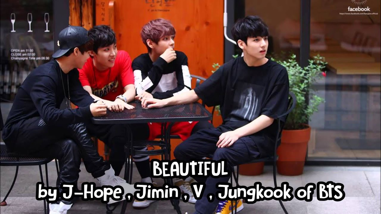 [MP3/DL] Beautiful By J-hope,Jimin,V,Jungkook of BTS