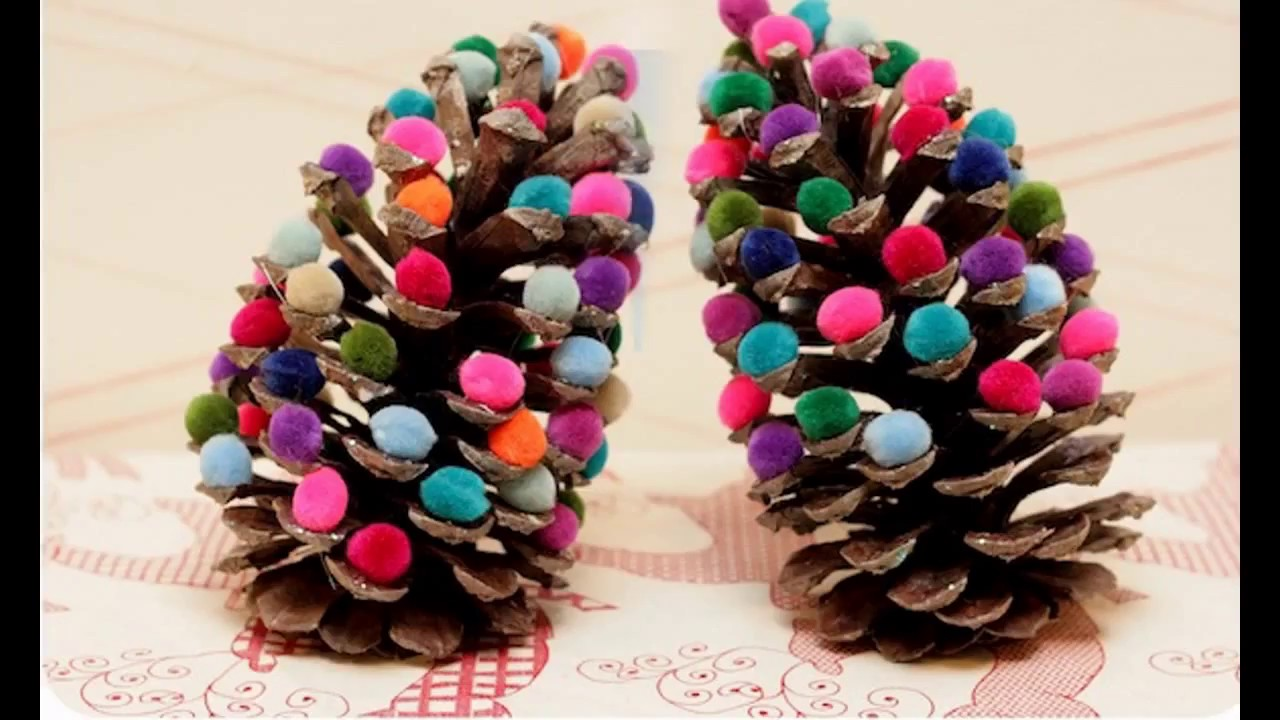 45ol Pine Cone Crafts For Kids4 Youtube