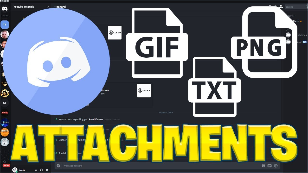 Make Your Own Discord Bot | Sending Attachments (2019) - Самые