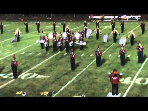 Sayre Marching Redskins 083013