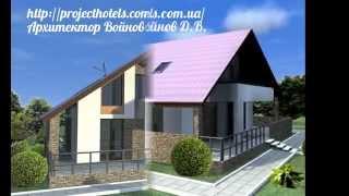 видео Проект мини гостиницы на 8 номеров (Мельница)