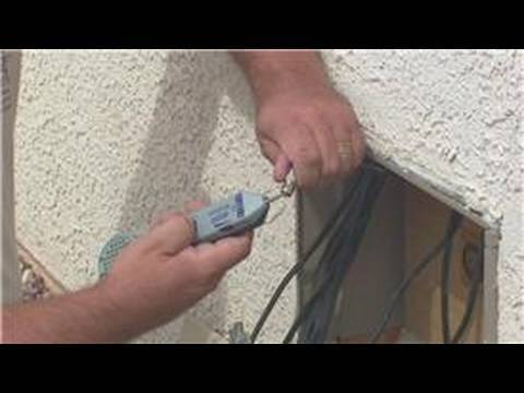 satellite tv installation how to wire a house for satellite tv rh youtube com Direct TV Satellite Wiring Diagrams RV Satellite Wiring -Diagram
