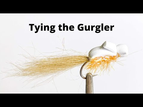Fly Tying The Gurgler For Topwater Sea Run Cutthroat Trout In Puget Sound