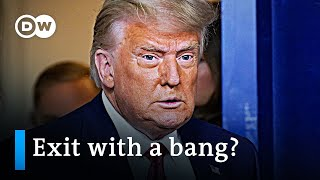 Trump's last days in office: Lame duck or raging bull? | To The Point Donald Trump's days in the White House finally seem to be numbered. The question is: how much damage can he still do? Our guests: Susanne Koelbl ..., From YouTubeVideos