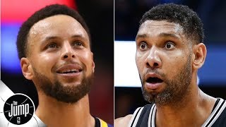 We're about to find out if Stephen Curry is the Warriors' Tim Duncan - Ramona Shelburne | The Jump