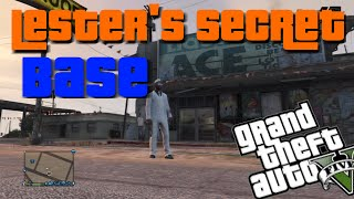 GTA 5 - Porno Poster & Lester Secret Base Easter Egg After Patch 1.17 (Gta 5 EasterEggs)