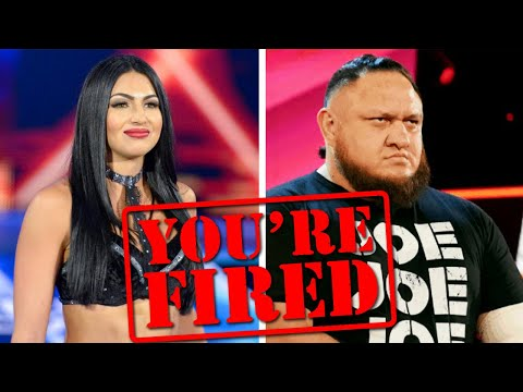 BREAKING: WWE Fires 9 Superstars...Samoa Joe & More...Wrestl