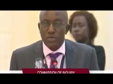 Abdoulie Tambedou, MD GPA Testifies At The Commission Of Enquiry