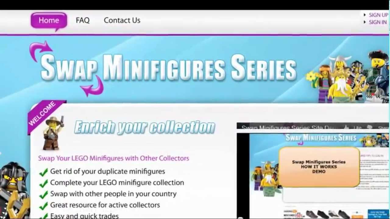 Swap Minifigures Series