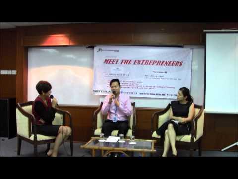 Forum: Meet the Entrepreneurs 2013 Organized by Entrepreneurship Club Sentral College Penang