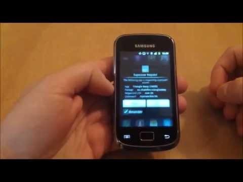Samsung Galaxy Mini 2 GT-S6500D Reset Flash Counter using Triangle Away [Tutorial]
