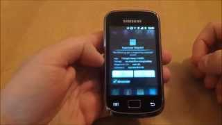 Samsung Galaxy Mini 2 GT-S6500D Reset Flash Counter using Triangle Away